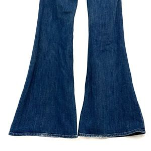 J BRAND VALENTINA SAIL Big Bell Blue Jeans Size 28